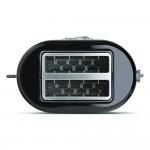 Torradeira Electrolux Easyline com 7 Níveis de Tostagem Preta TOE11 220V