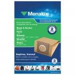 Sacos Descartáveis para Aspirador de Pó Menalux SIM01 3 Peças