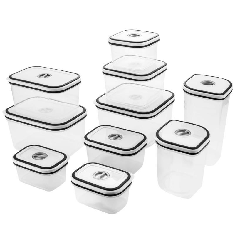 Conjunto de Potes Herméticos de Plástico Electrolux - 10 Unidades