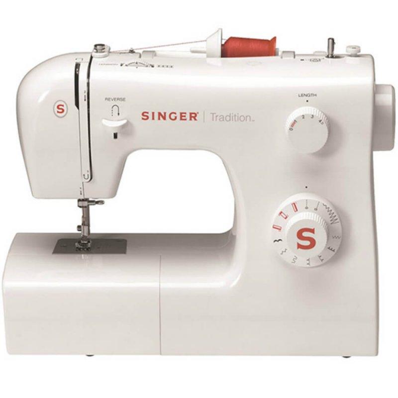 Máquina de Costura Portátil Singer Tradition 2250 220V Branca para Uso Doméstico