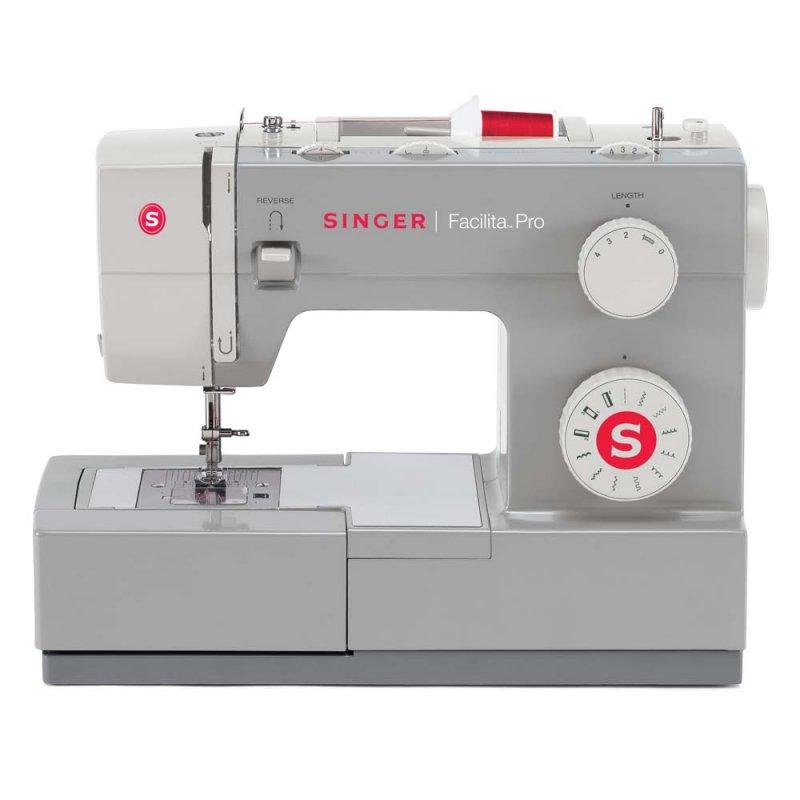 Máquina de Costura Singer Facilita Pro 4411 Cinza Clara Para Uso Doméstico 127V