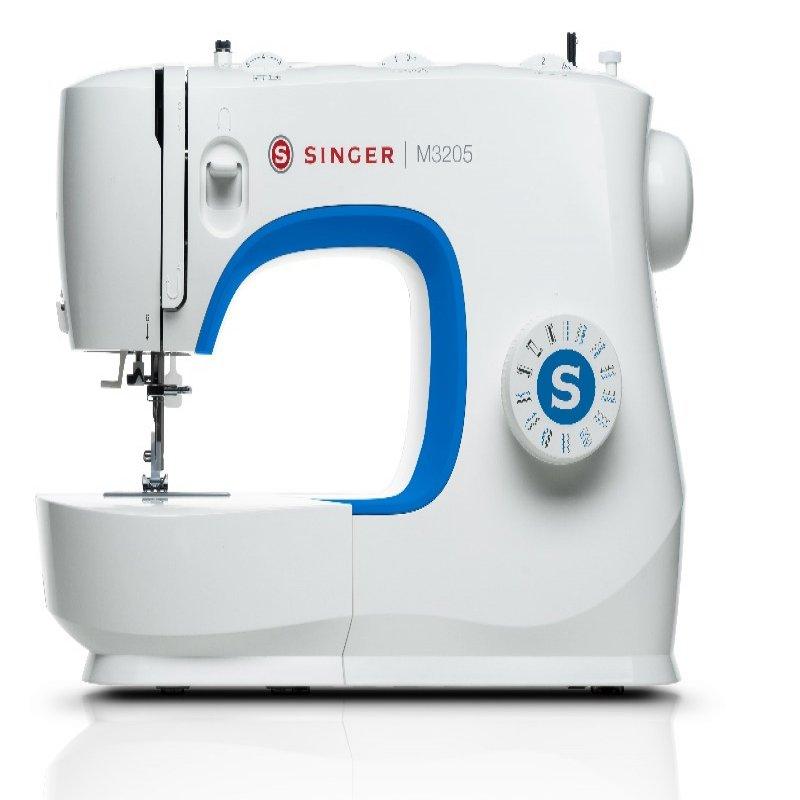 Máquina de costura Singer M3205 Mecânica de uso Doméstico 23 Pontos Básicos 70W 127V Branco