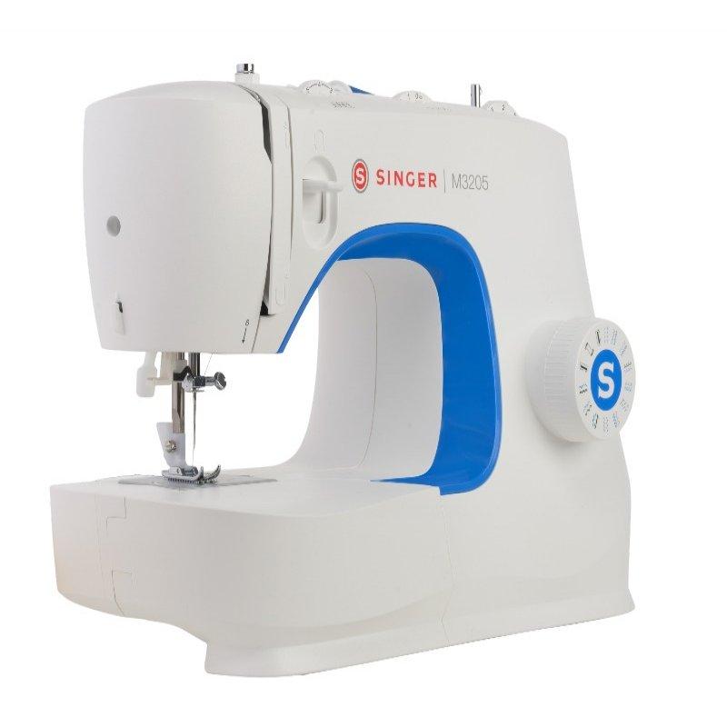 Máquina de costura Singer M3205 Mecânica de uso Doméstico 23 Pontos Básicos 70W 220V Branco