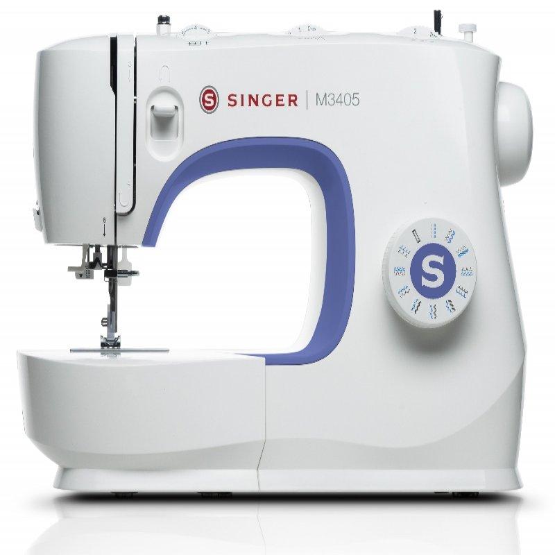 Máquina de Costura Singer M3405 23 pontos básicos 70W uso doméstico 127V Branco