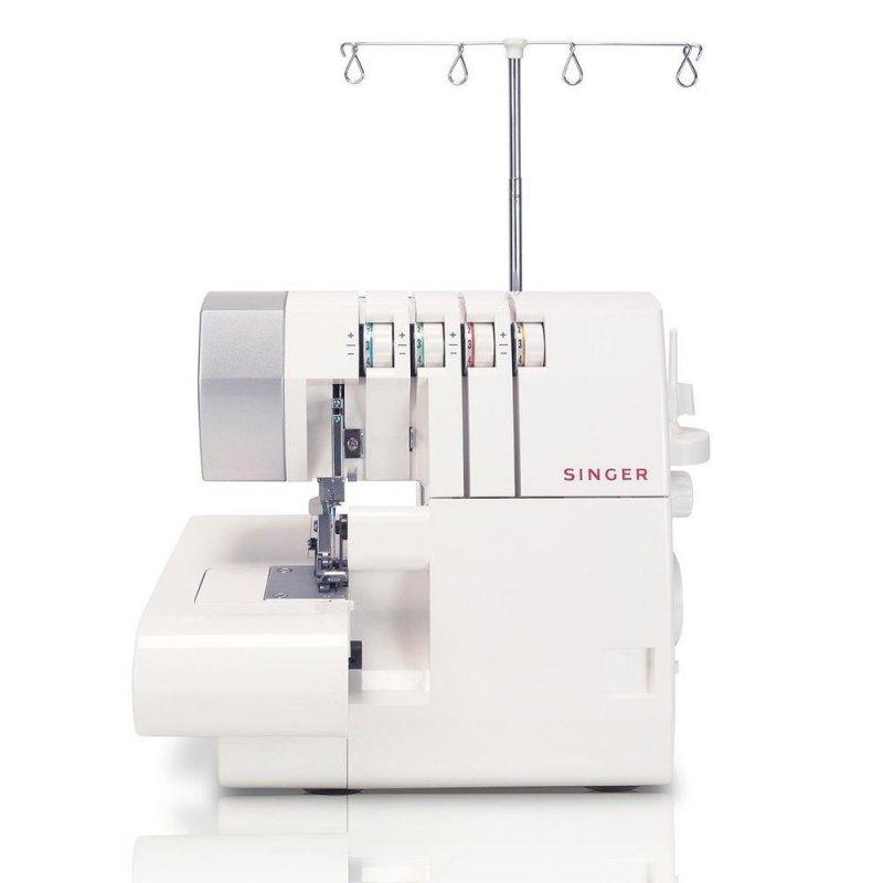Máquina de Costura Singer Ultralock Branca Para Uso Doméstico 127V