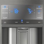 Geladeira French Door Inox com Dispenser de Água e Gelo na Porta 540L Electrolux 127V (DM90X)