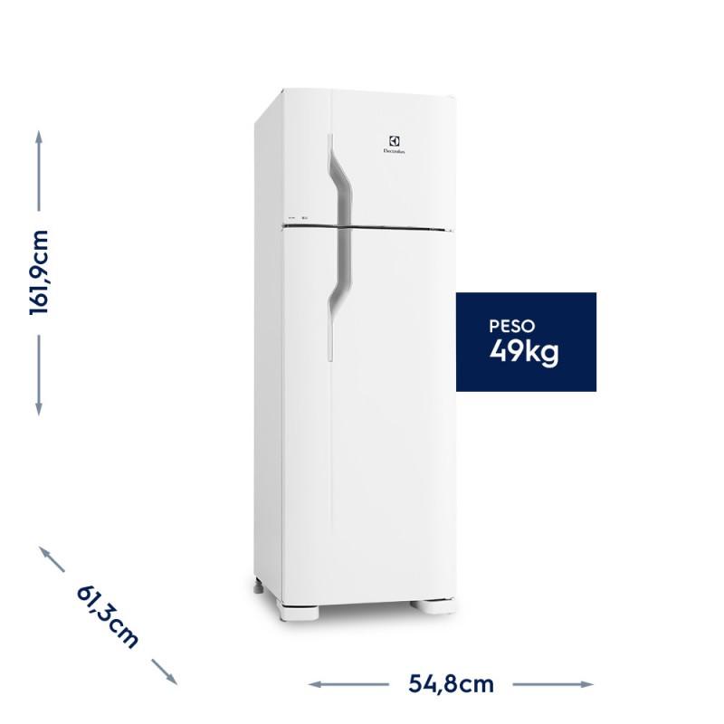 Geladeira/Refrigerador Cycle Defrost 260L Branco 220v (DC35A)