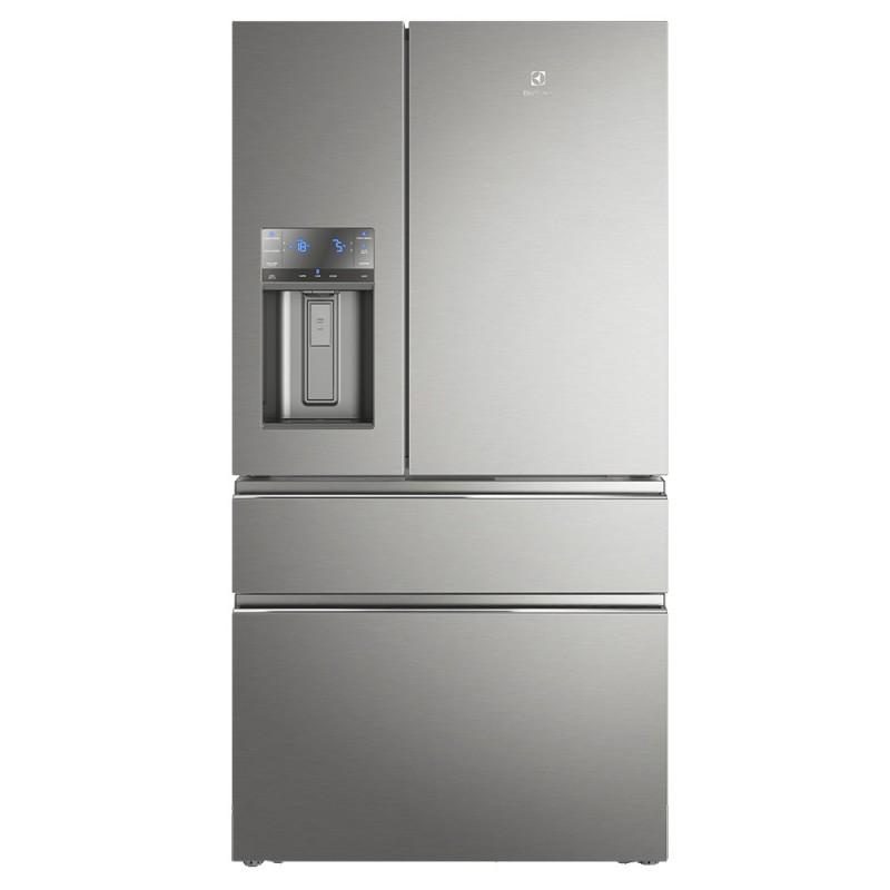 Geladeira/Refrigerador Electrolux French Door Inox Conectado 540L 127V (DM91X)