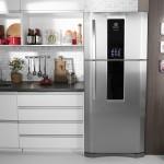 Geladeira/Refrigerador Electrolux Infinity Frost Free Inox 553L Electrolux 127V (DF82X)