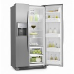 Geladeira/Refrigerador Side By Side Frost Free Inox 504L Electrolux 220V (SS72X)