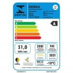 Geladeira/Refrigerador Top Freezer cor Inox 382L Electrolux 220V (TF42S)