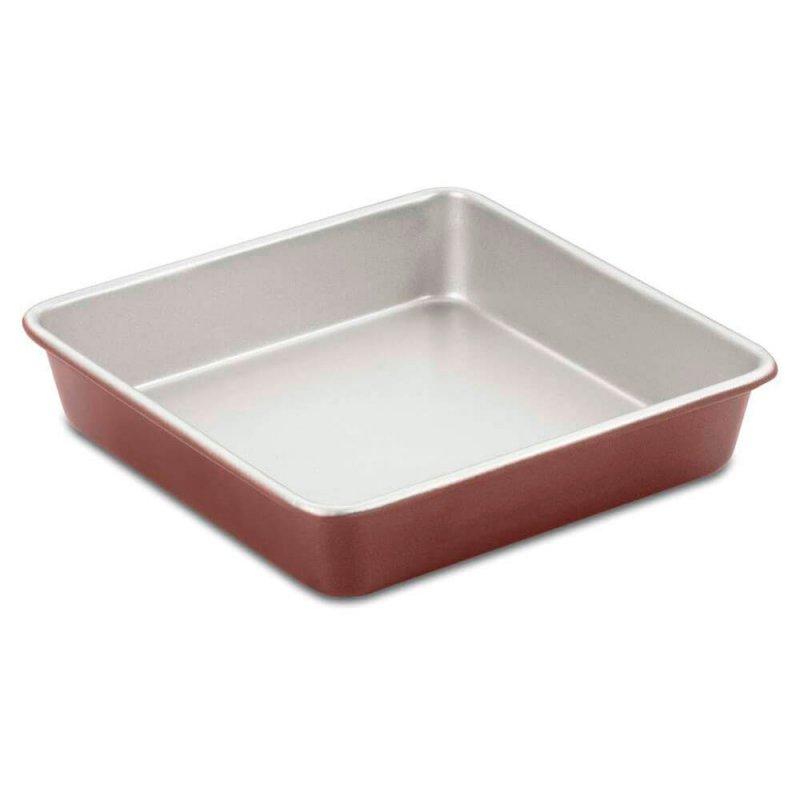 Forma Quadrada Cuisinart Em Alumínio Bronze 22cm Classic