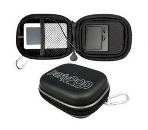 Estojo Cables Unlimited / Para Ipod / Com alto-falante / Preto