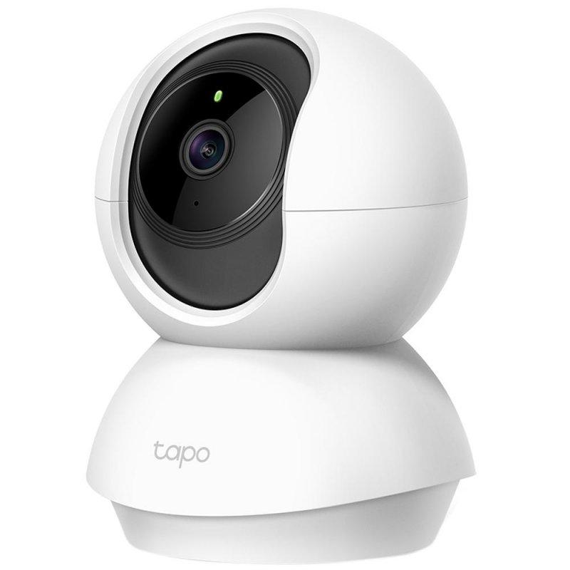 Câmera de Segurança Interna WiFi TP-Link Tapo C200 1080p 2MP Infravermelho 9m Cartão SD Até 128GB