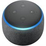 Combo Lâmpada LED Inteligente Positivo Home Smart RGB WIFI e Echo Dot Amazon Smart Speaker Preto Ale