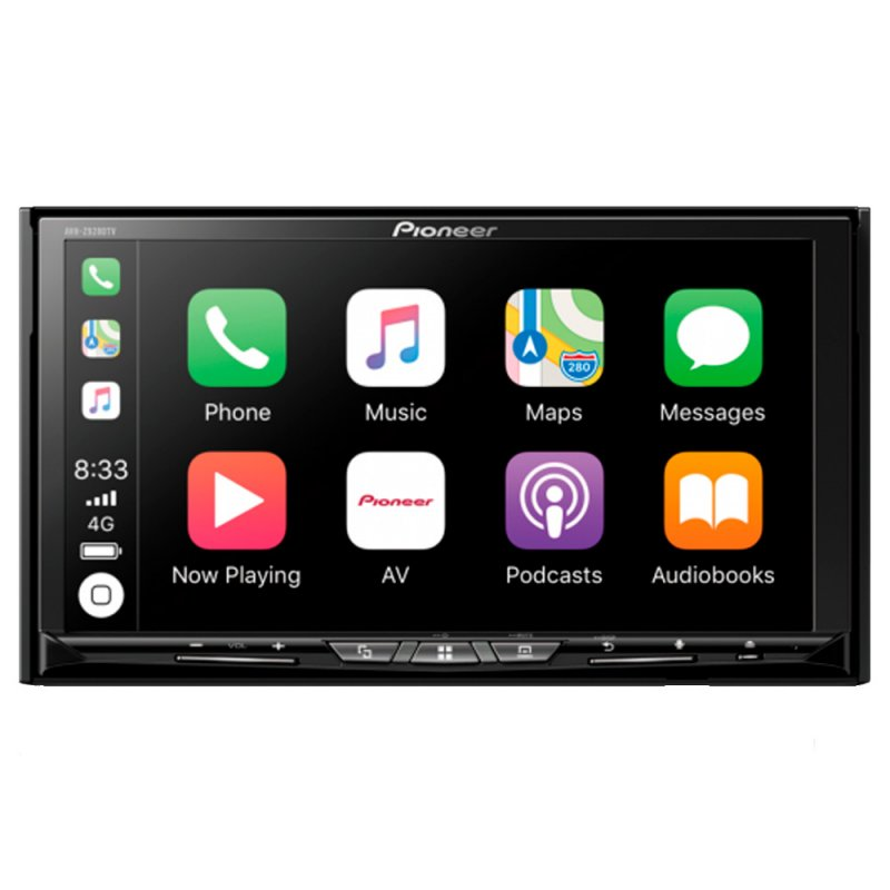 DVD Player Automotivo Pioneer AVH-Z9280TV Tela Touch 7 HDMI Wi-Fi TV Digital