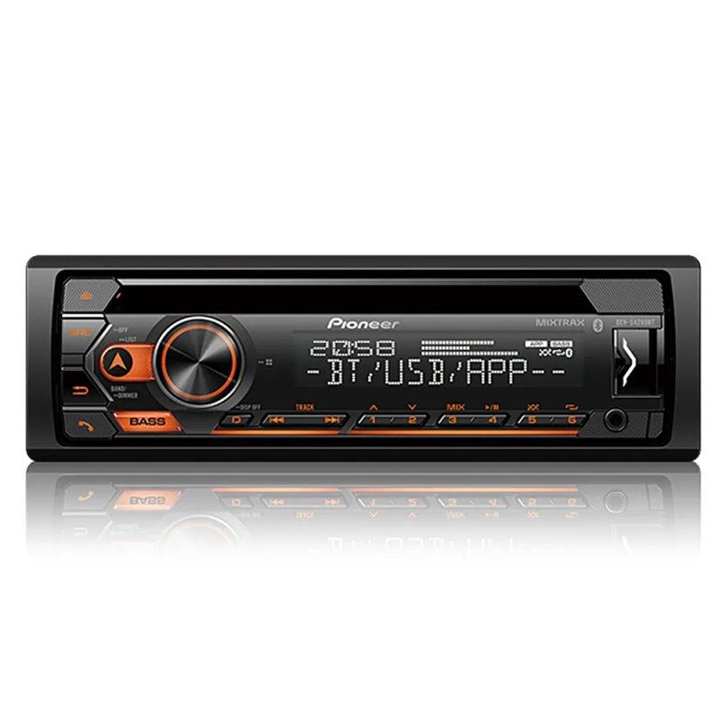 CD Player Pioneer DEH-S4280BT, Bluetooth, USB, AUX, Radio AM/FM, Comando de Volante e Smart Sync