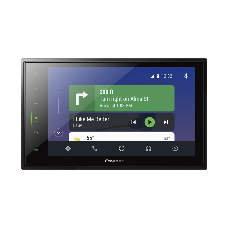 Multimídia Receiver DMH-ZS8280TV Touchscreen 8 Capacitativa, Apple Carplay, Android Auto, Bluetooth