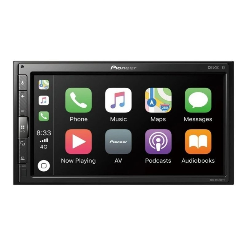 Multimidia Receiver DMH-ZS5280TV Touchscreen 6.8, Apple Carplay, Android Auto, Bluetooth, TV Digita