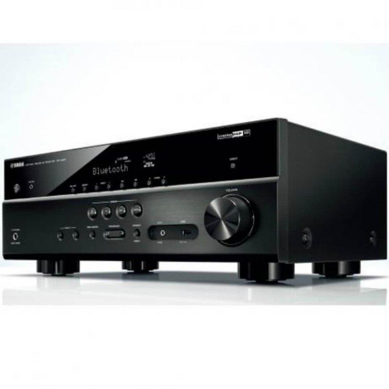 receiver av yamaha rx v483 bivolt preto 575w bluetooth wi fi airplay musiccast 4k 5 1 canais. Black Bedroom Furniture Sets. Home Design Ideas