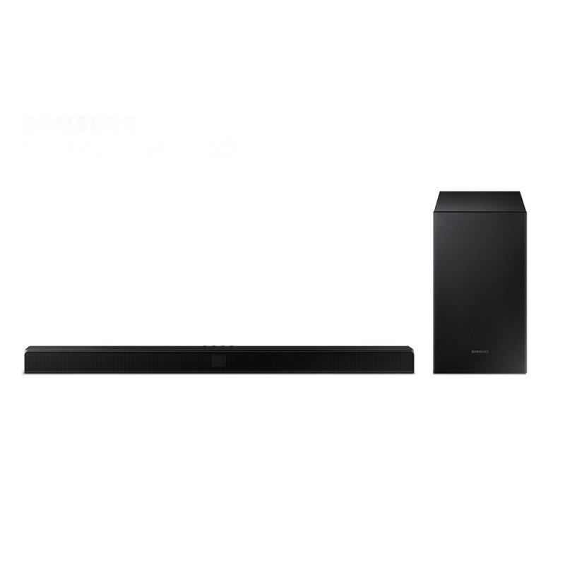 Soundbar Samsung HW-T550 com 2.1 Canais 320W Bluetooth e Subwoofer Sem Fio