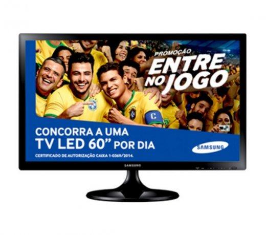 bbc0bbd95d3 Televisores Samsung T24C310 - Compre Online