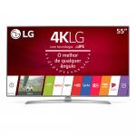 "Compare Smart TV LG Ultra HD 55"" Painel IPS 4K 55UJ6545 com HDR, Upscaler 4K, WebOS 3.5 e Magic Mobile Conne"