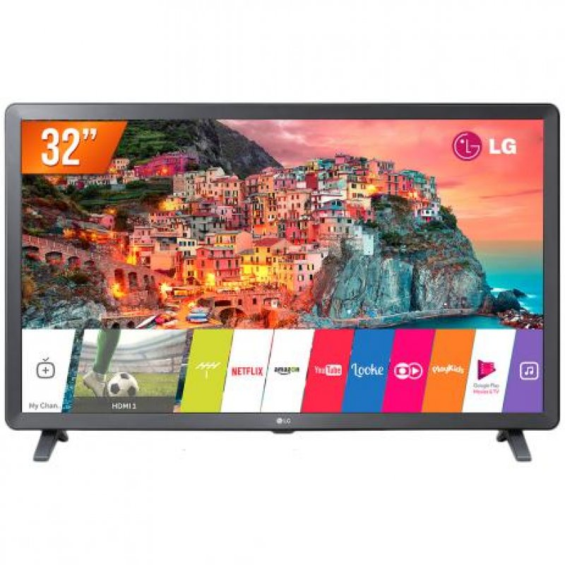5ec1b54b65d Smart TV LG LED HD 32 Preta 32LK615BPSB com WebOS 4.0 HDR e Magic Mobile  Connection
