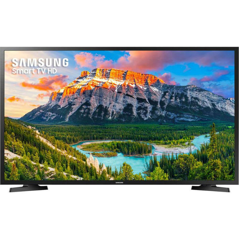 Smart TV Samsung LED HD Flat 32 UN32J4290AGXZD Conversor Digital 2 HDMI 1 USB