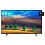 Smart TV LED 55 UHD 4K Samsung NU7100 Visual Livre de Cabos HDR Premium Tizen Wi-Fi 3 HDMI