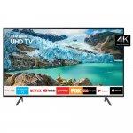 Smart TV Samsung 43 UHD 4K 2019 UN43RU7100GXZD Visual Livre de Cabos HDR Design Premium Tizen Wi-Fi