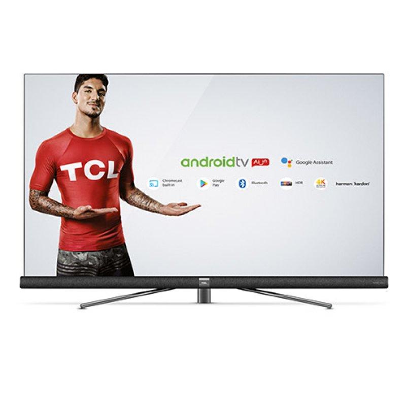 Smart TV Android Ultra HD 4K LED 65 TCL C6 HDR 3 HDMI 2 USB Bluetooth Wi-Fi e Sistema de Som Harman