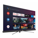 Smart TV Android Ultra HD 4K LED 55 TCL C6 HDR 3 HDMI 2 USB Bluetooth Wi-Fi e Sistema de Som Harman