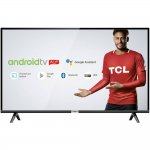 Smart TV LED 32 TCL HD HDR com Android TV Wi-Fi Bluetooth 1 USB 2 HDMI