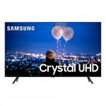 Smart TV 50 Samsung Crystal UHD 4K 2020 UN50TU8000 Borda Ultrafina Visual Livre de Cabos Wi-Fi HDMI