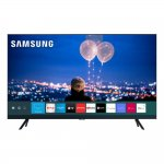 Smart TV 55 Samsung Crystal UHD 4K 2020 UN55TU8000 Borda Ultrafina Visual Livre de Cabos Wi-Fi HDMI
