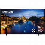 Combo Samsung Smart TV 55 QLED 4K 55Q60A e Soundbar Samsung HW-T450 2.1 Canais