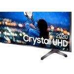 Smart TV 58 Samsung Crystal UHD 4K 2020 UN58TU7000 Borda ultrafina Visual Livre de Cabos Wi-Fi HDMI