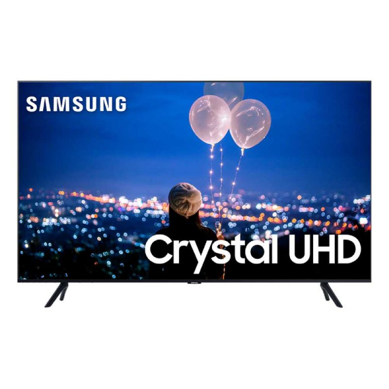 Smart TV 75 Samsung Crystal UHD 4K 2020 UN75TU8000 Borda Ultrafina Visual Livre de Cabos Wi-Fi HDMI