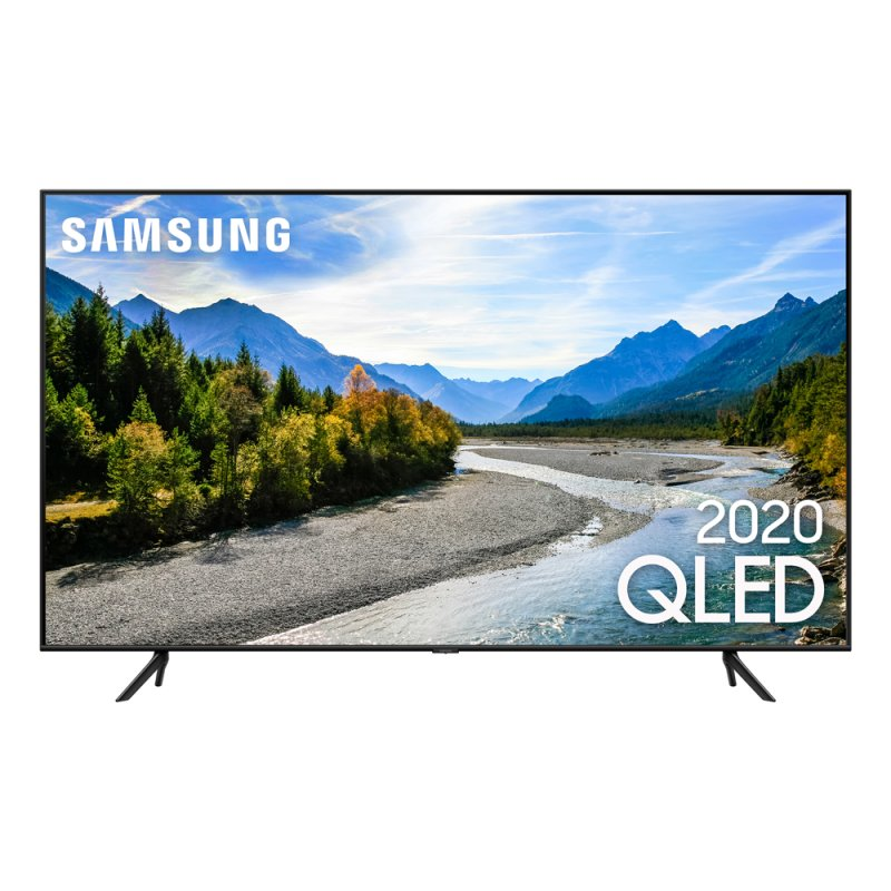 Samsung Smart TV QLED Q60T 4K 55 Borda Ultrafina Visual Livre de Cabos