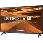 Smart TV LED 49 UHD 4K LG 49UM7300 ThinQ AI HDR Ativo WebOS 4.5 DTS Virtual X