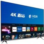 Smart TV LED 50 Philips 50PUG6654/78 Ultra HD 4k Design sem Bordas Wi-fi Bluetooth 3 HDMI 2 USB
