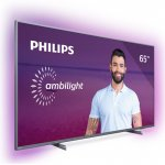 Smart TV LED Ambilight 65 Philips 65PUG6794/78 Ultra HD 4k com Conversor Digital HDMI USB Wi-Fi