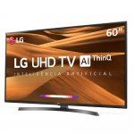 Smart TV LG 60 Ultra HD 4K 60UM7270 ThinQ Al HDR Ativo DTS Virtual X webOS 4.5 3 HDMI 2 USB