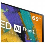 Smart TV LG 65 OLED65GX 4K OLED BT Inteligência Artificial ThinQ AI Hands Free Google Alexa Preta