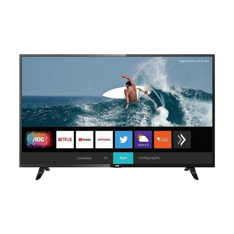 Smart TV AOC 32 LED HD 32S5295/78G HDR Wi-Fi 2 USB 3 HDMI