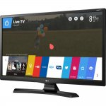 Smart TV Monitor LG 28 LED Wi-Fi webOS 3.5 DTV Time Machine Ready Bivolt 28MT49S