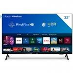 Smart TV Philips 32 PHG682578 HD sem Bordas HDR Plus 3 HDMI 2 USB Wifi Miracast Preta