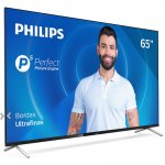 Combo Smart TV Philips 65 65PUG7625/78 e Soundbar JBL SB130 Bluetooth Dolby