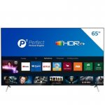 Smart TV Philips 65 4K UHD P5 HDR10 Bluetooth WiFi 3 HDMI 2 USB Bordas Ultrafinas Preto